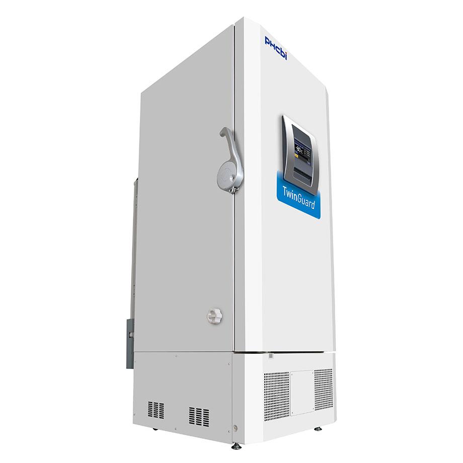 Ultracongelator vertical cu 2 sisteme de refrigerare de diverse dimensiuni