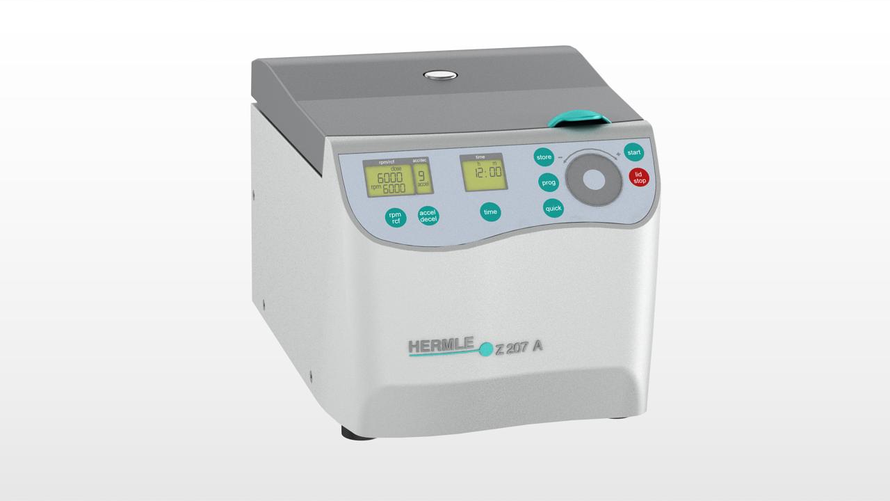 Microcentrifuga compacta  Z 207 M