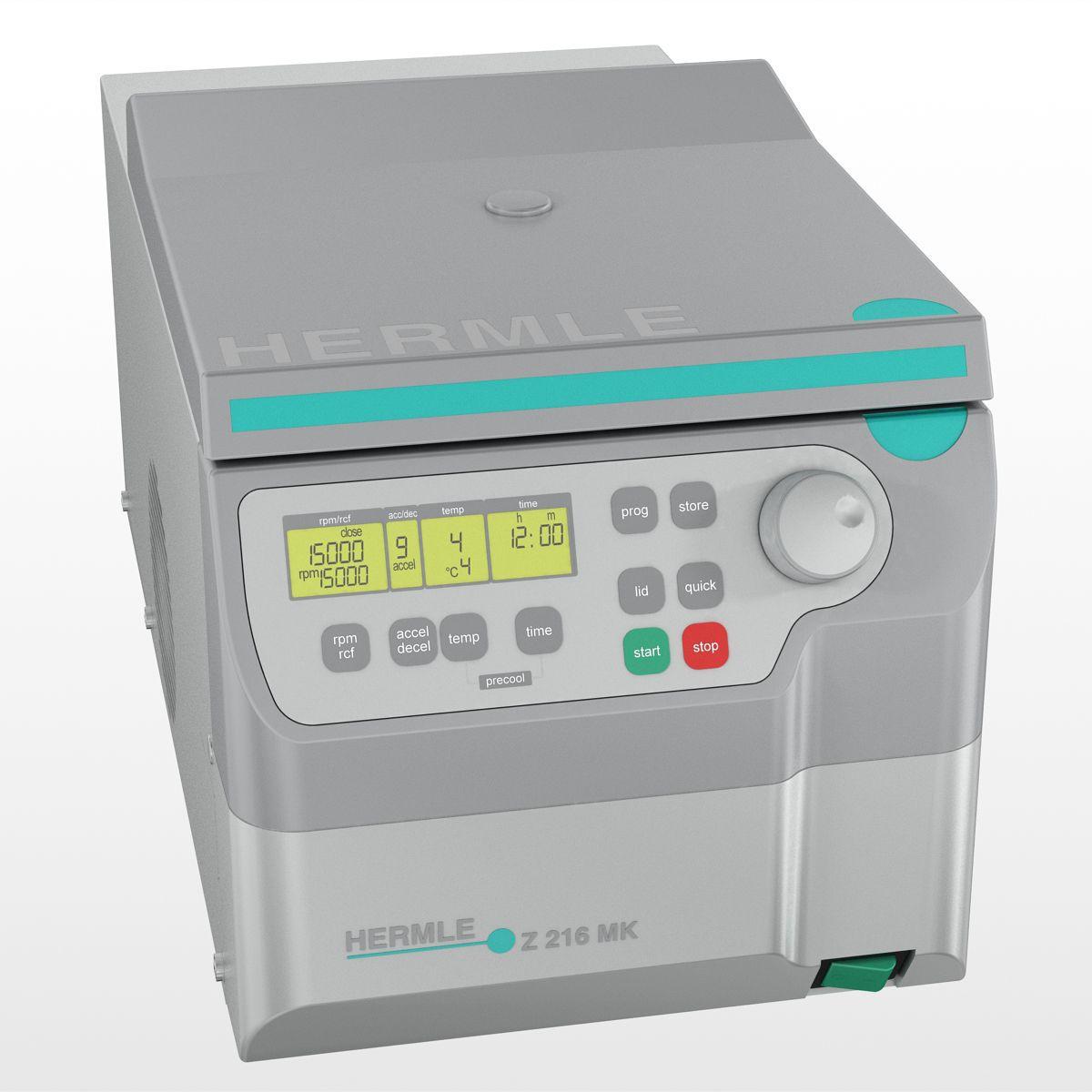 Microcentrifuga cu putere si capacitate ridicata cu sau fara racire Z216 M/Z216MK