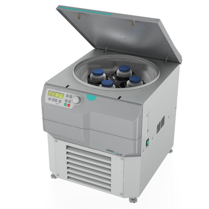 Centrifuga cu volum foarte mare cu racire, pentru pungi de sange ZK496