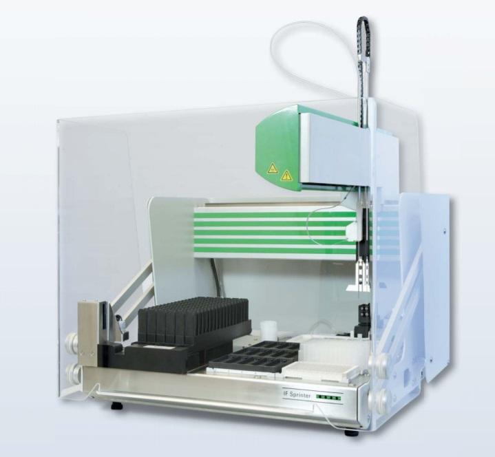 Sistem automat de procesare lame IFA - Sprinter