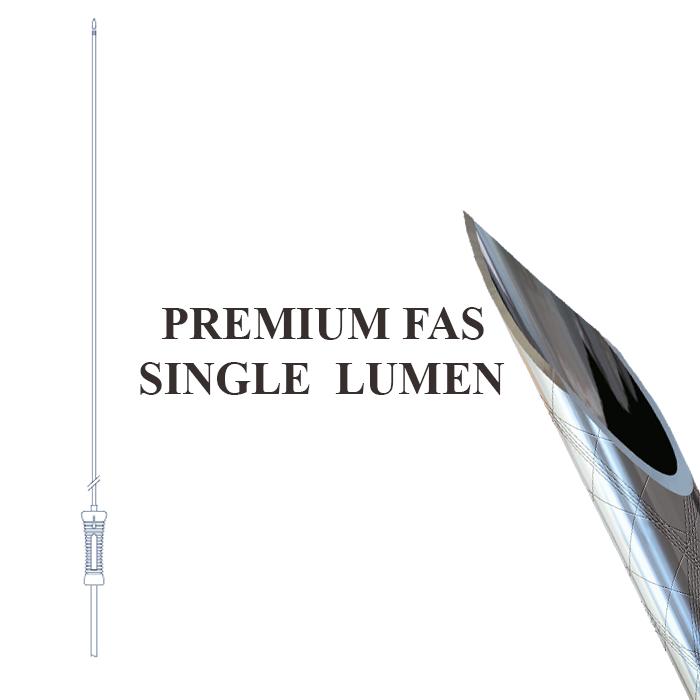 Ac de punctie cu Lumen simplu Premium  (Premium fas Single Lumen)