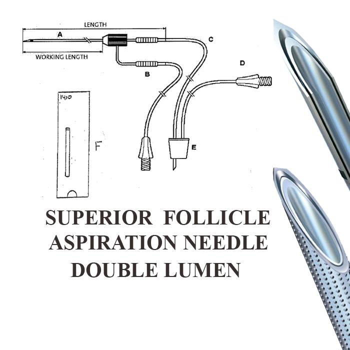 Ac de punctie double lumen Custom C2