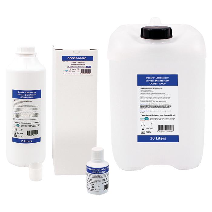 Dezinfectant special pentru suprafete Laborator FIV