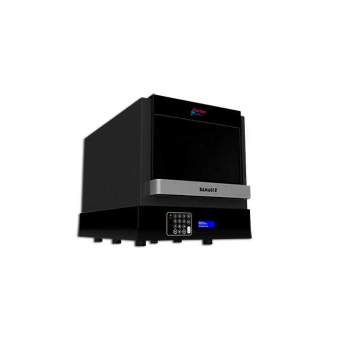 Extractor automat  cu sistem inchis SaMag 12/24