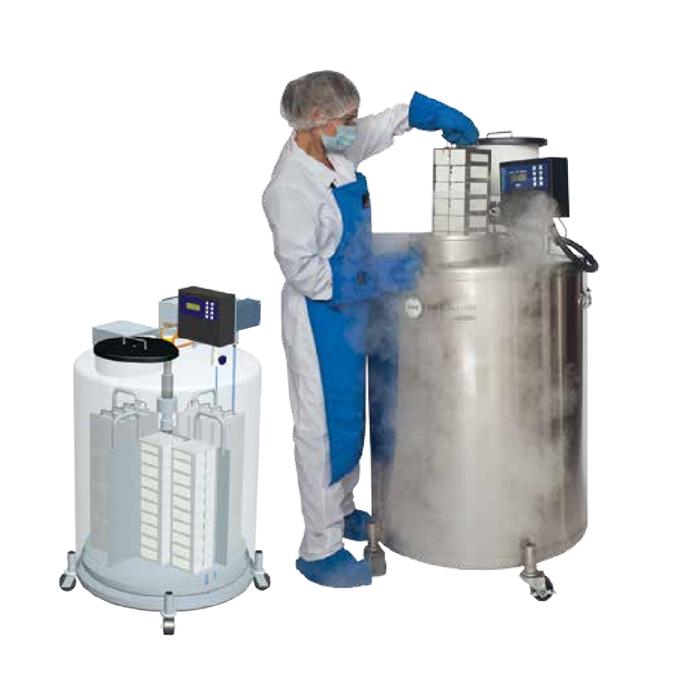 Seria MVE 800 – Tanc de azot lichid cu randament ridicat