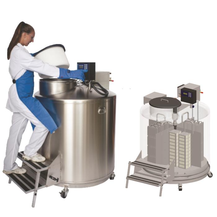 MVE Seria 1500-Tanc de azot lichid cu randament ridicat de -190°C