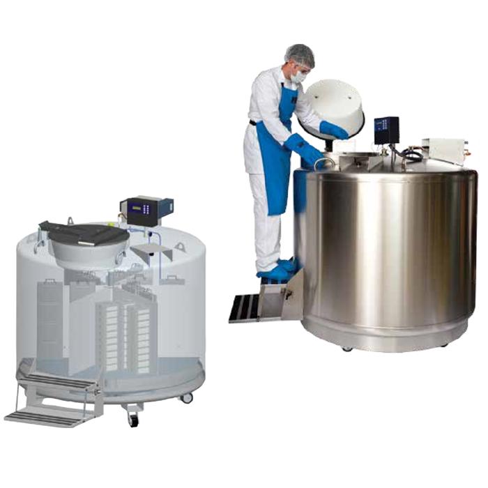 MVE Seria 1800-Tancuri de azot lichid cu randament ridicat de -190°C