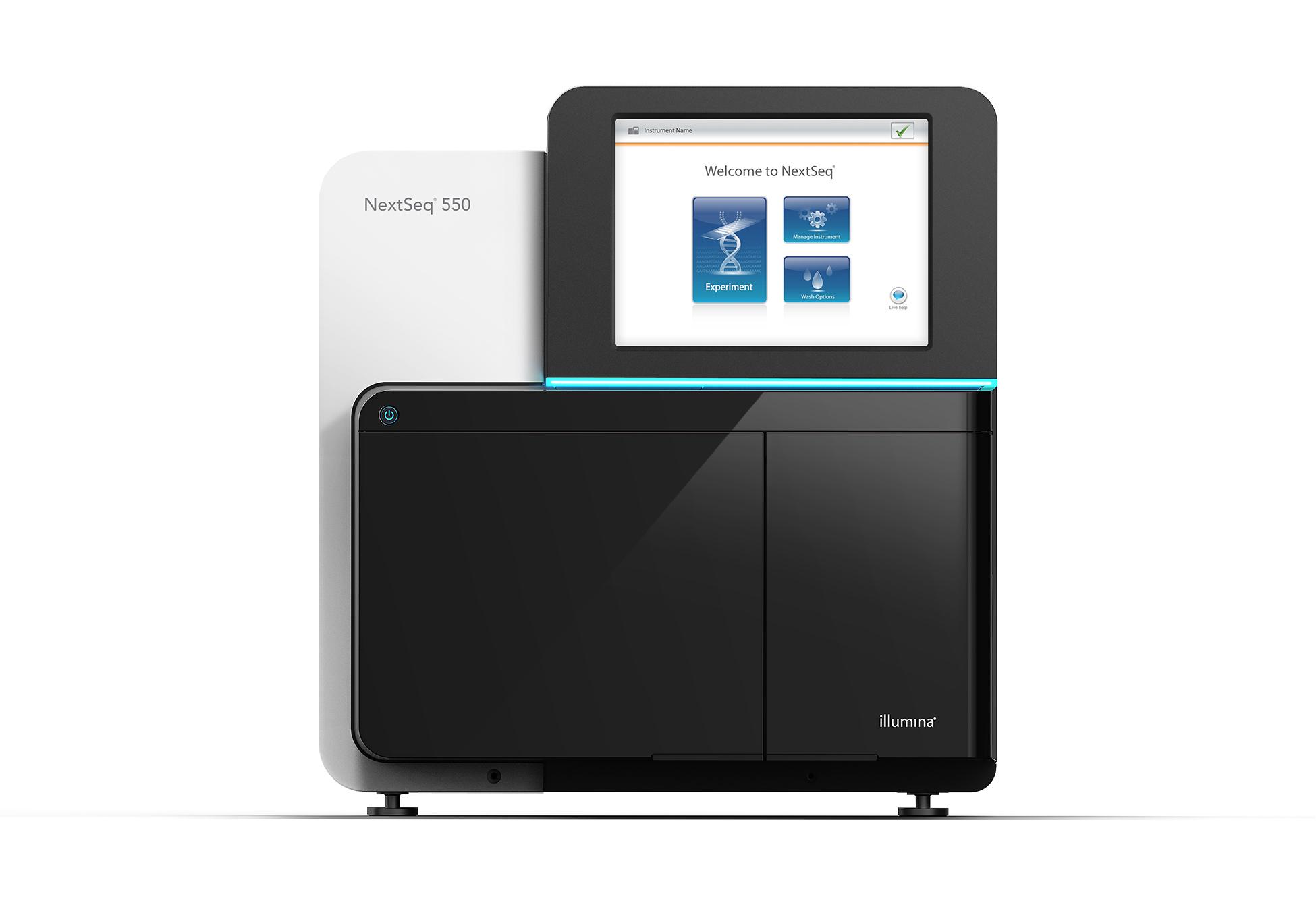 Sistemul de secventiere NextSeq 550